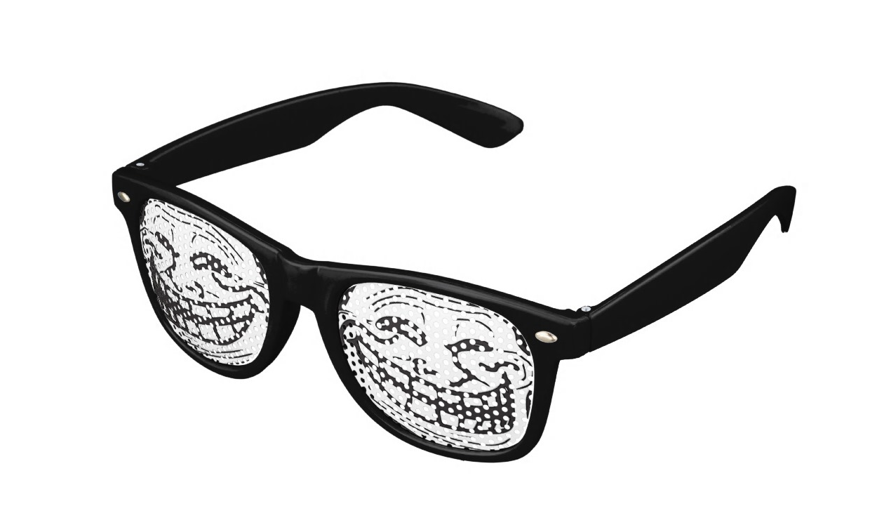 Troll glasses