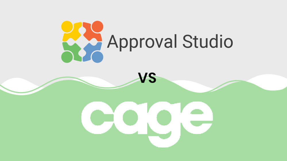 Approval Studio VS CageApp