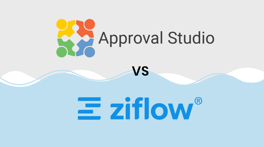 ZiFlow vs Approval Studio
