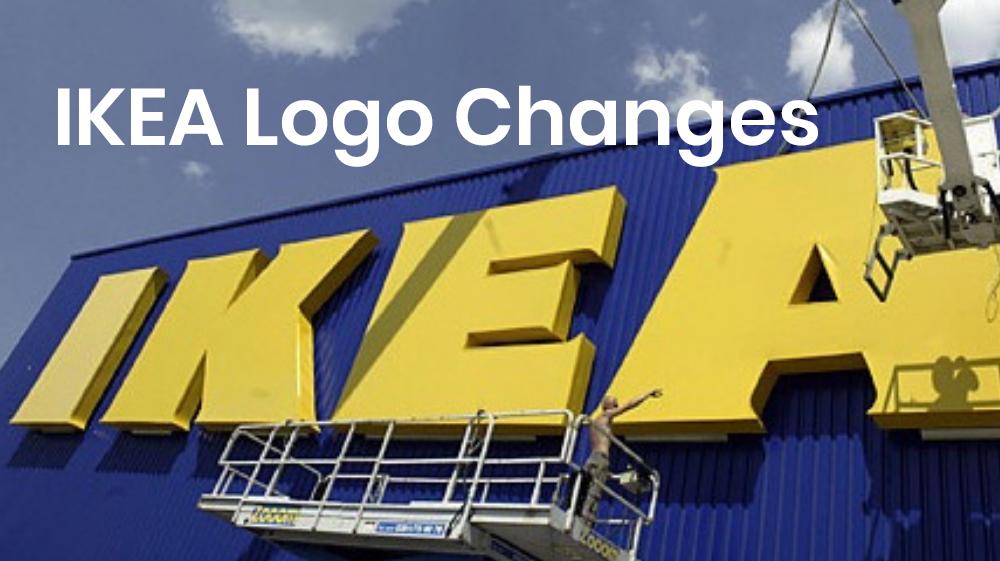 ikea logo changes