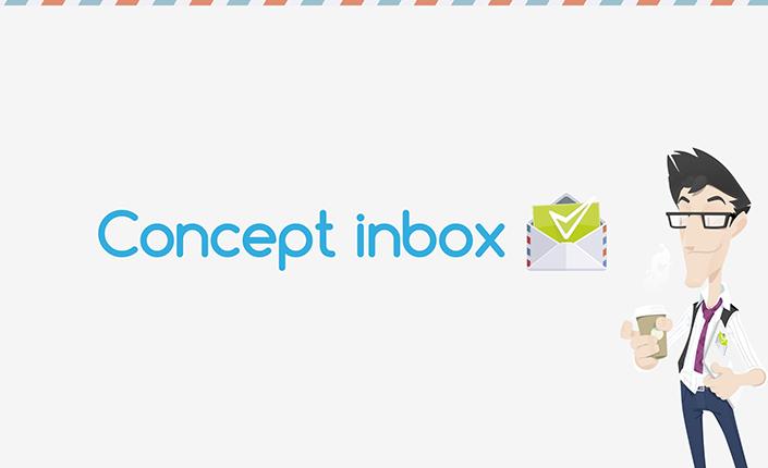Concept inbox logo