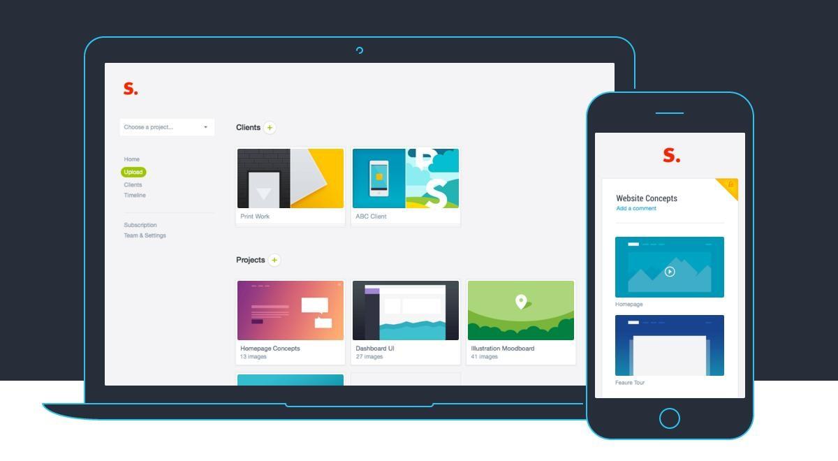 Prevue app interface