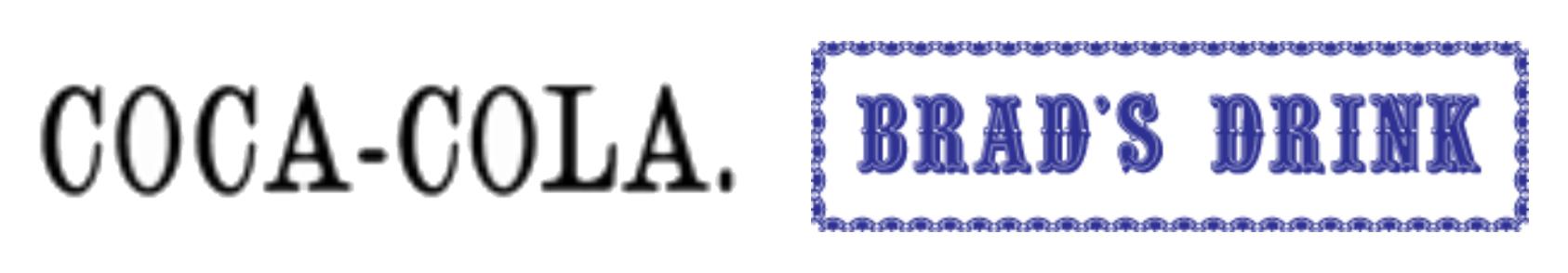 Begining of Coca-Cola logo