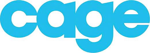 cage app logo blue
