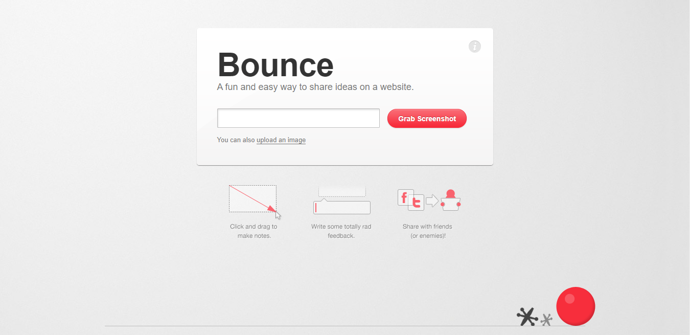 Bounce homepage