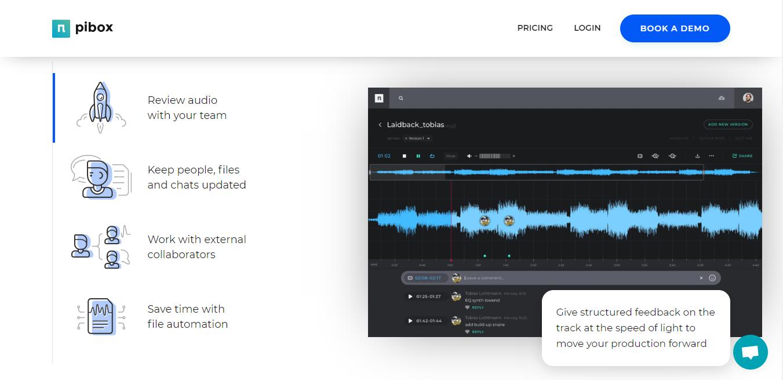 Pibox homepage
