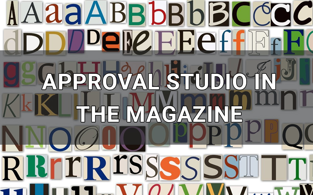 approval studio in the magazine