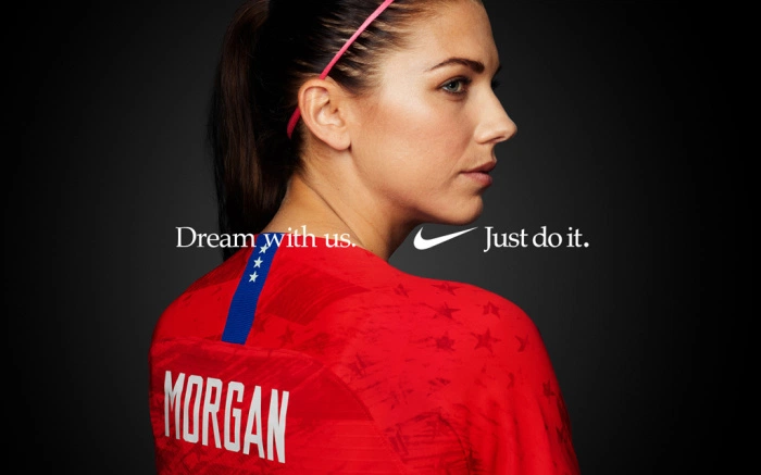 Dream with us. Nike promotion poster