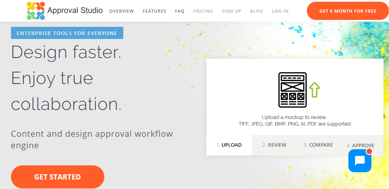 Approval Studio Homepage
