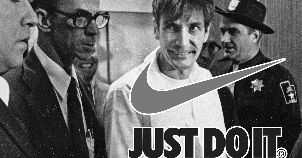The weirdness of the world: Nike has to thank a murderer for their famous slogan