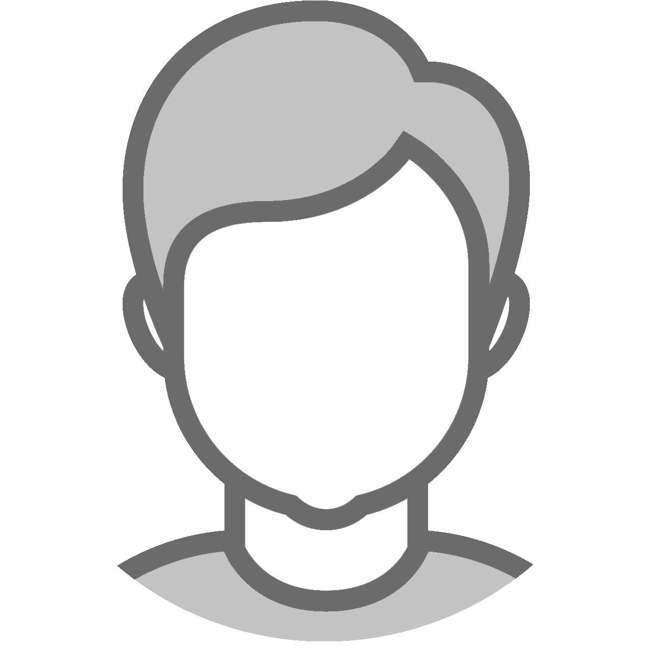 gray icon background round