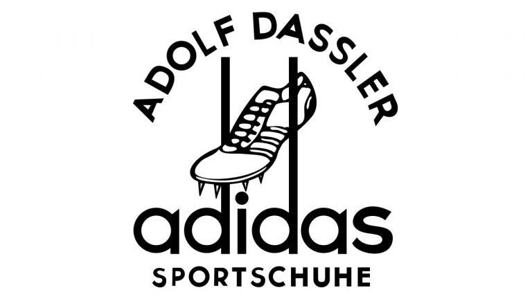 Adolf Dassler's first brand logo