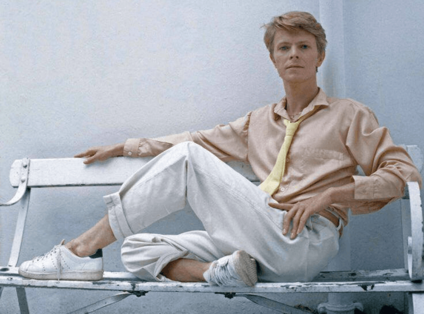 Was David Bowie an Adidas fan?