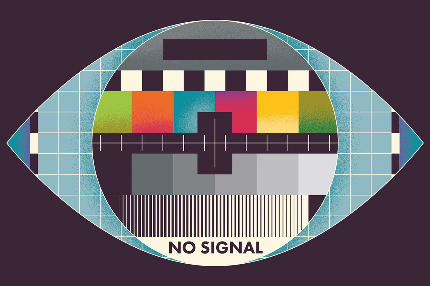 'No Signal' Illustration by Tom Redfern