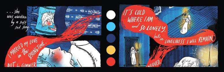 Coloring comics
