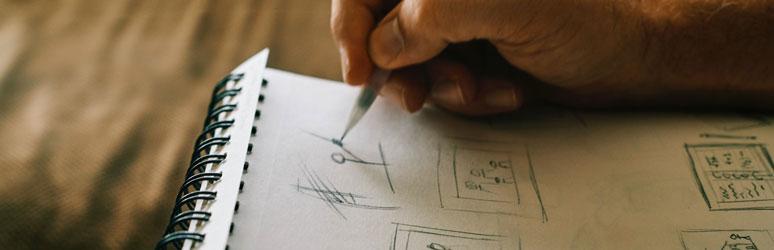 Sketching comics