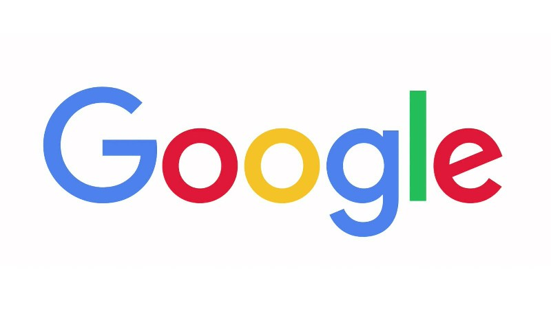 Google's logo.