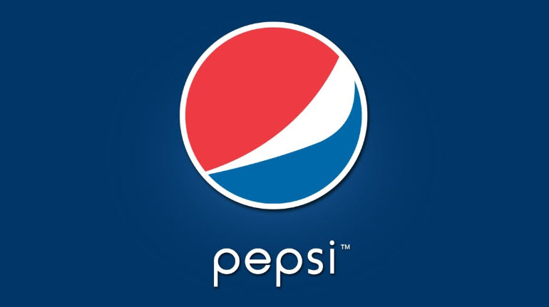 The modern logo of Pepsi.