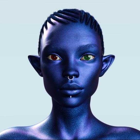 3D Portrait by Okeowo Adeniyi