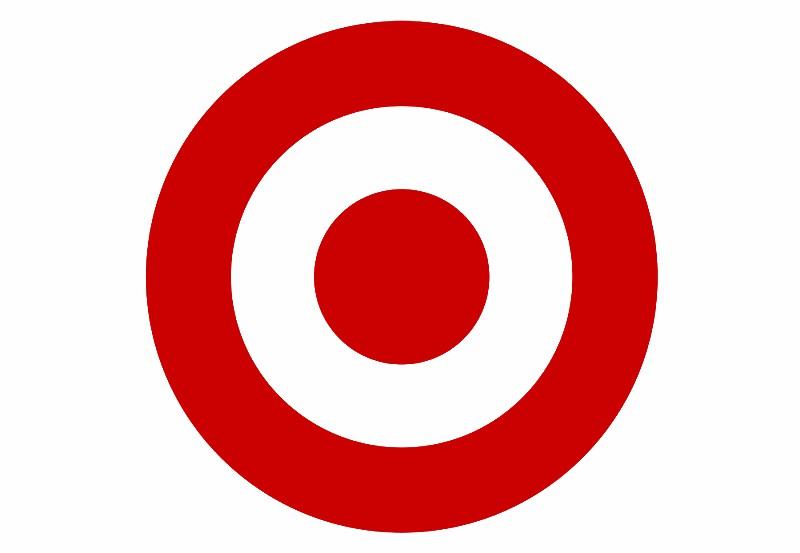 The infamous Target's bullseye.