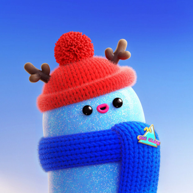Manon Sailly's 3D Christmas puppet