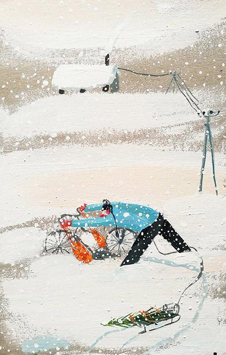 Olesia Sekeresh's Holiday postcard