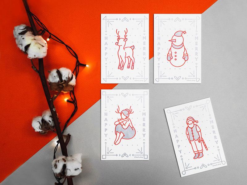 Sally Yang's holiday cards