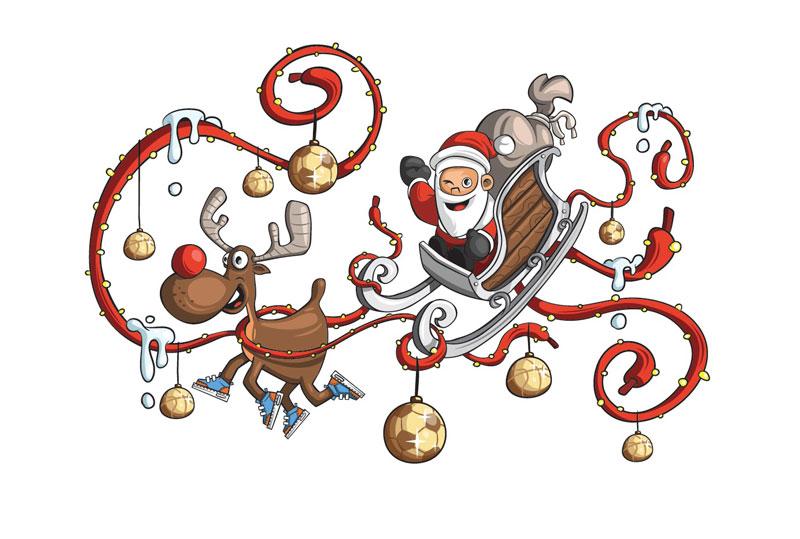 Konrad Kirpluk's Christmas artwork
