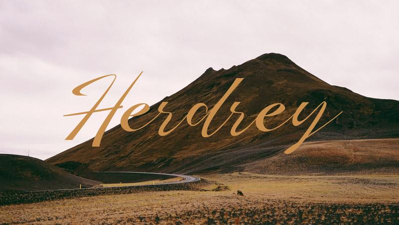 Herdrey font