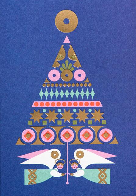 Bo Lundberg's Christmas Postcard