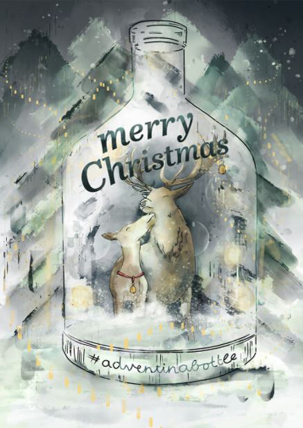 Patricia Schneider's holiday illustration