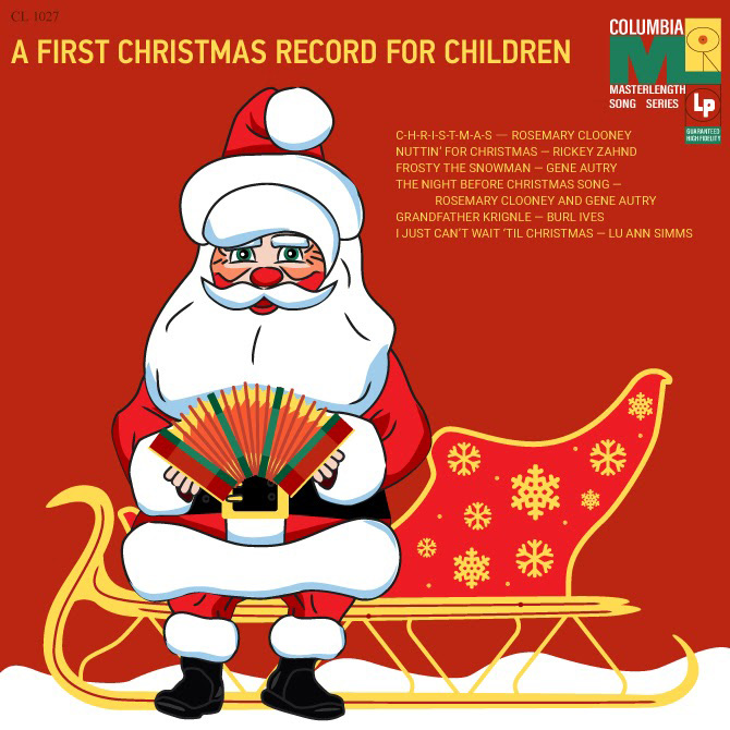 Edited design of more friendly Santa