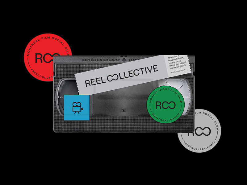 Video casette as a Montreal Film Social Club promotion image