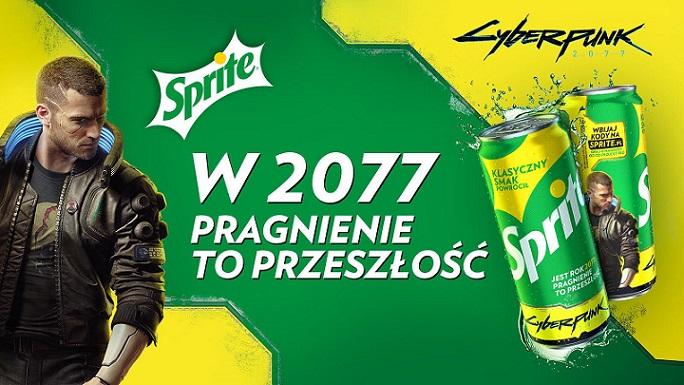 Sprite Cyberpunk promotion banner