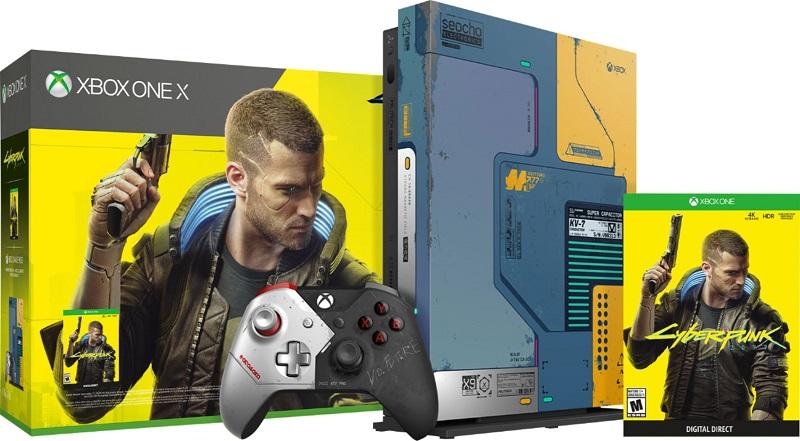 Cyberpunk designed Xbox