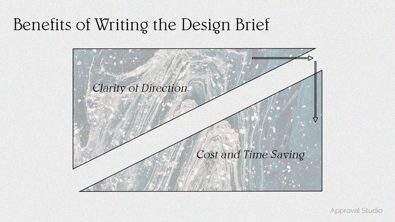 the benefits scheme of writing a design brief