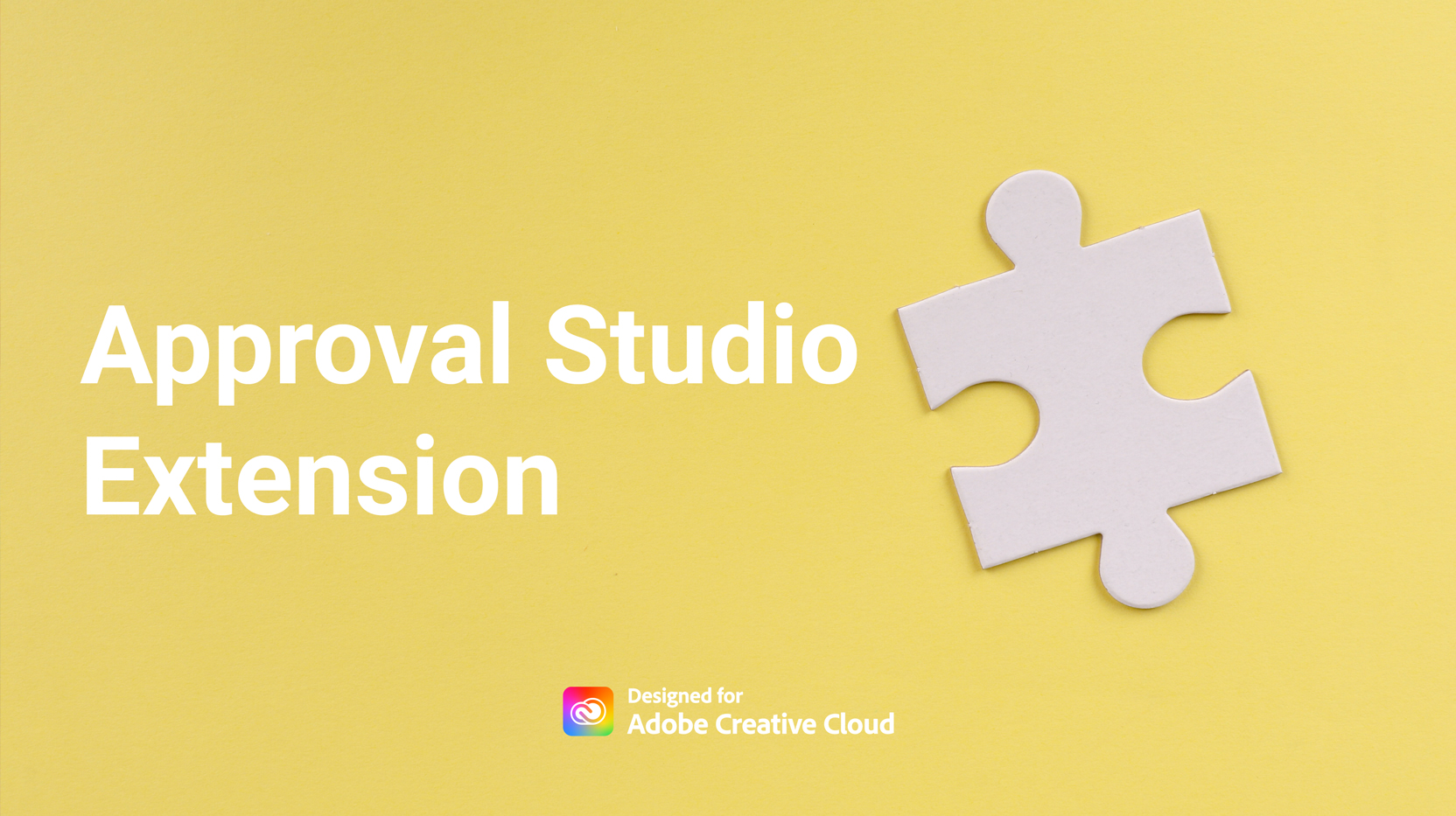 adobe approval studio extension banner