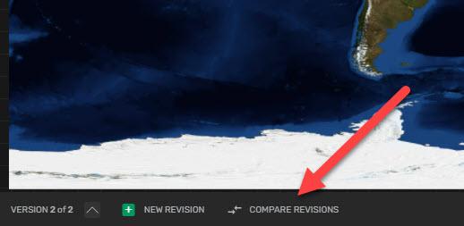 GoVisually compare revisions button