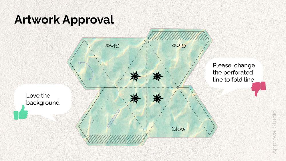 how artwork approval in packaging design works