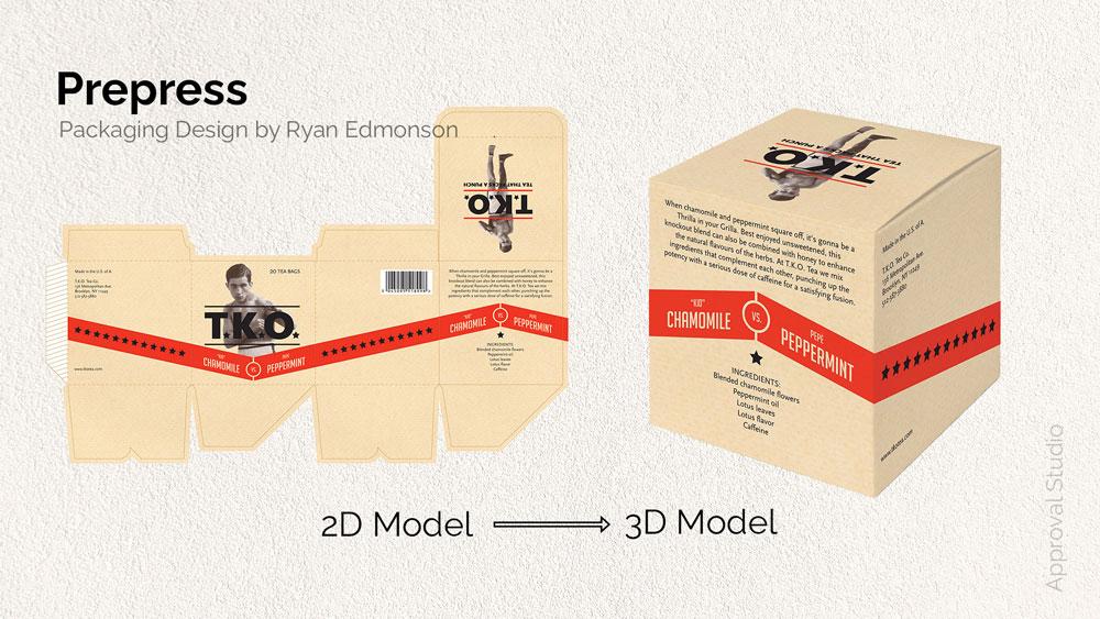 Packaging design example by Ryan Edmonson