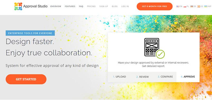 Approval Studio Webpage